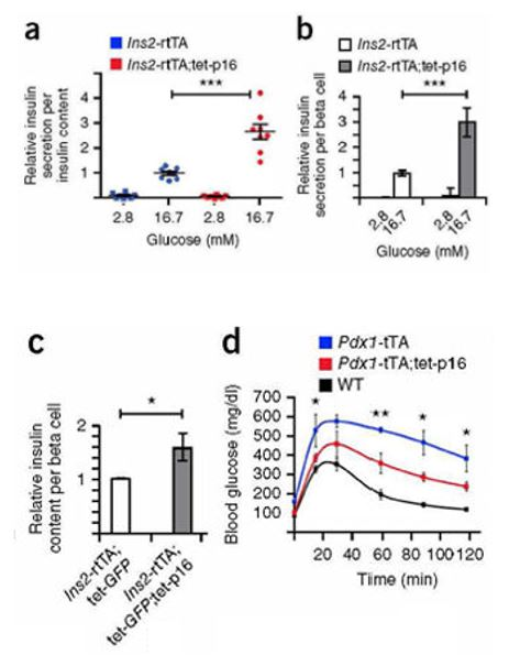 A New Paradigm For the Treatment of Diabetes by Induction of Cellular Senescence