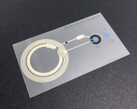 Low cost and reusable, non-invasive wireless chemical sensor for biological fluids